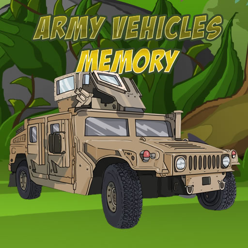 Army Vehicles Memory