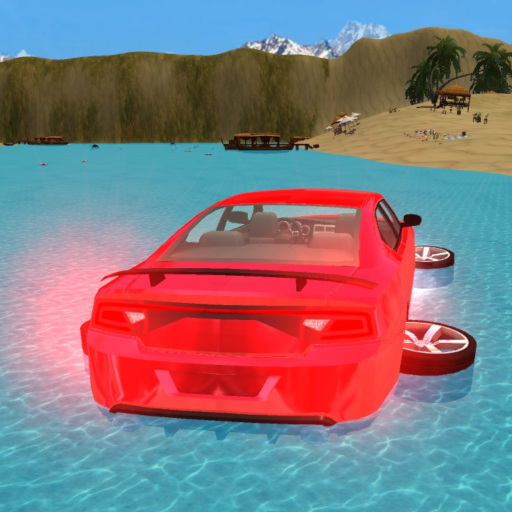Water Car Surfing 3D