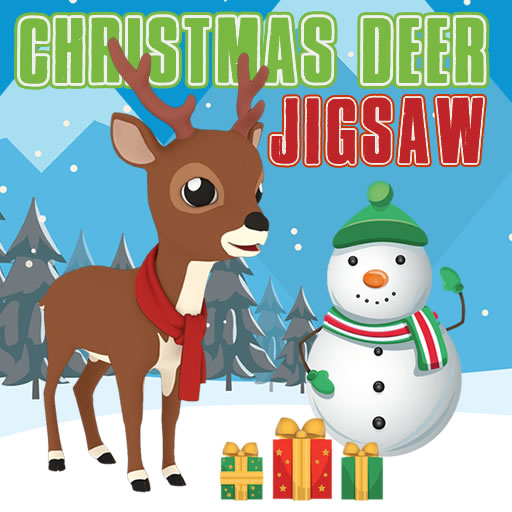 Christmas Deer Jigsaw